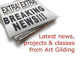 Art Gilding Blog