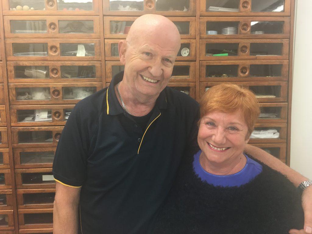 Karl and Brigitte