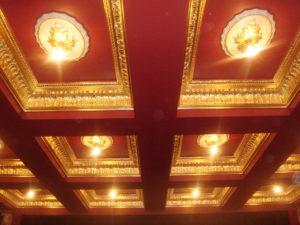 Media Room ceiling