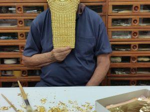 Assyrian Golden Mask