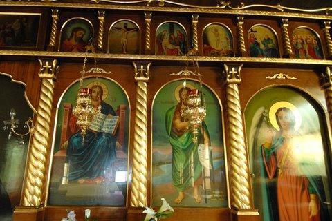St  Nektarios Church Wollongong restoration - Art Gilding